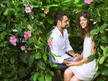 Proposta del matrimonio al San Valentino Fotografia Stock