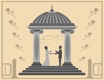 Proposta do amor e de união Foto de Stock