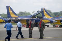 PROPOSTAS NOVAS DO LUTADOR DE JATO DA FORÇA AÉREA DE INDONÉSIA Imagens de Stock