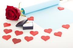 Propozycja małżeństwo Zdjęcia Royalty Free