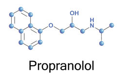 Propranolol Photographie stock libre de droits
