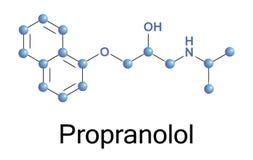 Propranolol Στοκ φωτογραφία με δικαίωμα ελεύθερης χρήσης