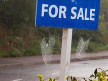 Propriété à vendre Images stock