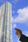 Propriété d'immeubles Photo stock
