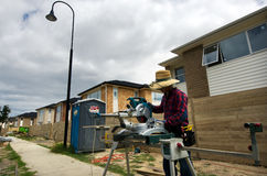 Propriété et marché de l'immobilier de logement du Nouvelle-Zélande Photographie stock libre de droits