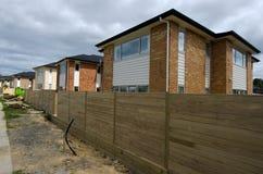 Propriété et marché de l'immobilier de logement du Nouvelle-Zélande Image libre de droits