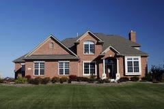 Propriétaire d'une maison immobilier de boîtier Photo libre de droits