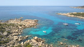 Propriano de crique, Corse Images libres de droits