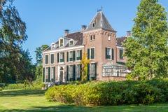 Propriedade Boekesteyn 'em s Graveland, Países Baixos Imagem de Stock