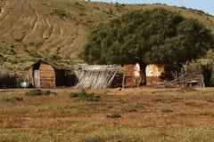 Propriedade da exploração agrícola no Chile do norte fotos de stock