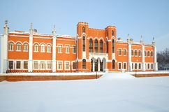 Propriedade de Marfino no inverno Fotos de Stock Royalty Free