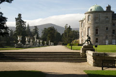 Propriedade de Powerscourt, Enniskerry, condado Wicklow, Irlanda foto de stock royalty free