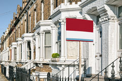 Propriedade a deixar, Londres. Foto de Stock Royalty Free