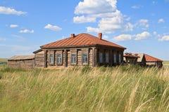 A propriedade do cossaco no dia ensolarado Fotos de Stock Royalty Free