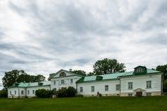 Propriedade do país em Yasnaya Polyana, HOME de Leo Tolstoy Fotos de Stock Royalty Free