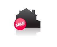 Propriedade dos bens imobiliários para a venda Fotografia de Stock Royalty Free