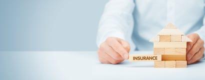 Propriedade insurance fotografia de stock