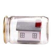 Propriedade insurance.metaphor Imagens de Stock