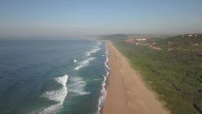 Propriedade litoral de Zimbali, Ballito, Kwazulu Natal, África do Sul video estoque