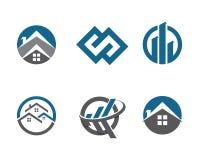 Propriedade Logo Template Foto de Stock Royalty Free