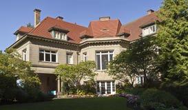 Propriedade Portland Oregon da mansão de Pittock Fotos de Stock Royalty Free