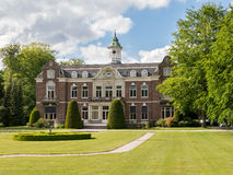 Propriedade Rusthoek em Baarn, Países Baixos imagem de stock royalty free