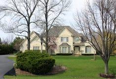 Propriedade suburbana executiva Fotografia de Stock