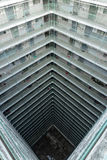 Propriedade velha da arquitetura de Hong Kong Residential, China fotos de stock royalty free