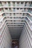 Propriedade velha da arquitetura de Hong Kong Residential, China fotografia de stock royalty free