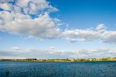 Propriedades do beira-rio Imagens de Stock