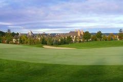 Propriedades do golfe Imagem de Stock Royalty Free