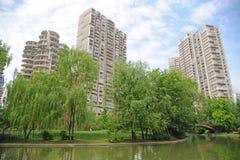 Proprietà a Chengdu, Cina Fotografia Stock