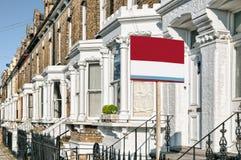 Proprietà da lasciare, Londra. Fotografia Stock Libera da Diritti