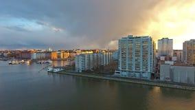Proprietà del distretto di Merihaka, Helsinki, Finlandia Fotografia Stock