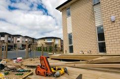 Proprietà e mercato immobiliare di alloggio della Nuova Zelanda Fotografie Stock Libere da Diritti