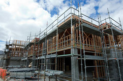 Proprietà e mercato immobiliare di alloggio della Nuova Zelanda Fotografia Stock