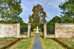 Proprietà terriera di Chatham - Stafford County, la Virginia immagine stock libera da diritti