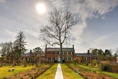 Proprietà terriera di Chatham - Stafford County, la Virginia fotografia stock libera da diritti