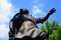 Proprietà terriera di Izmailovo a Mosca Monumento all'imperatore russo Peter First fotografia stock