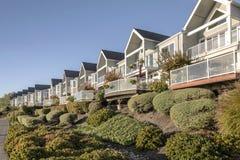 Proprietà Vancouver WA dei condomini di lungofiume Fotografie Stock