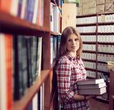 Proprietário de livrarias Foto de Stock Royalty Free