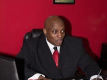 Proprietário empresarial pequeno bem sucedido Fotografia de Stock Royalty Free