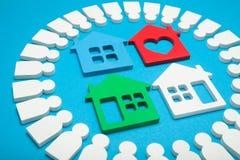 Proprietario della proprietà, ispettore della casa, migliore appartamento domestico immagini stock