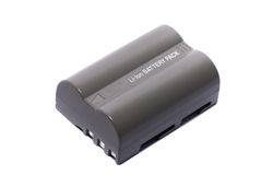 Proprietary rechargeable battery Royalty Free Stock Image