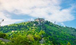 Proprio forte Sperone, Genova, Italia fotografia stock libera da diritti