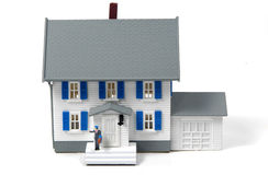 Propriétaire d'une maison Image libre de droits