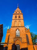 Propsteikirche Herz Jesu church in Luebeck hdr. Propsteikirche Herz Jesu (Church of the Sacred Heart of Jesus) in Luebeck, Germany, hdr stock photos