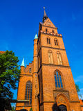 Propsteikirche Herz Jesu church in Luebeck hdr. Propsteikirche Herz Jesu (Church of the Sacred Heart of Jesus) in Luebeck, Germany, hdr stock photography