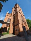 Propsteikirche Herz Jesu church in Luebeck Stock Photos