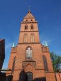Propsteikirche Herz Jesu church in Luebeck. Propsteikirche Herz Jesu (Church of the Sacred Heart of Jesus) in Luebeck, Germany stock photography
